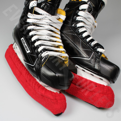 Elite Hockey Pro Terry Skate Soakers - Red