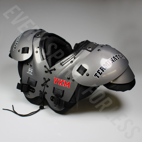 VKM Terminator Youth Football Shoulder Pads