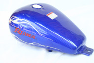 Honda Rebel CMX250 Gas Tank Set: Blue Gas Tank