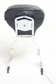 Harley HD Detachable Passenger Sissy Bar Backrest Upright with Pad Softail Heritage FLST 1984 to Later