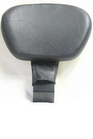 Black Driver (Rider) Backrest set: Backrest Bracket, Backrest pad