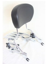 High Quality detachable Stealth Luggage Rack, detachable Passenger Sissy Bar Rack, four point docking hardware 2014 and later