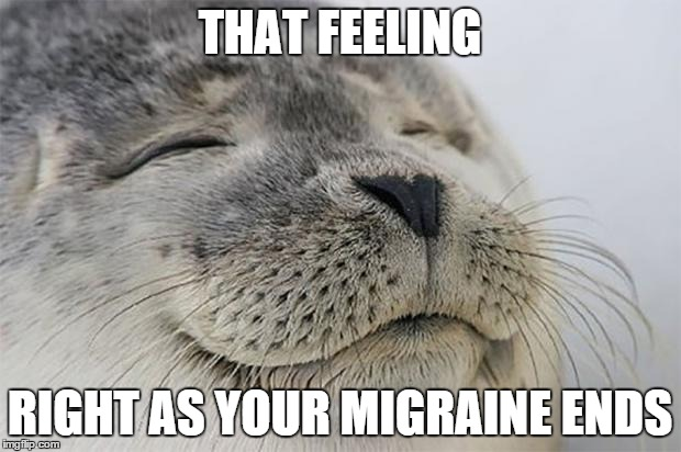 Migraine Meme, Post Attack Euphoria