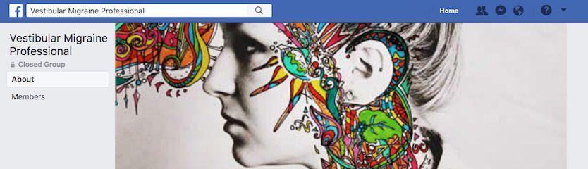 Facebook groups for vestibular migraine