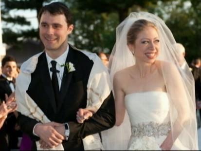 Chelsea Clinton and Marc Mezvinsky