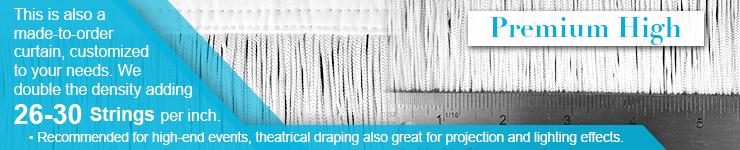 High Premium density String Fringe Curtains