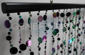 Doorway Beaded Curtains Champagne Bubbles Black