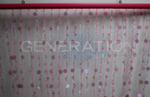 Doorway Beaded Curtains Champagne Bubbles Pink