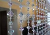 Crystal Gemstone Beaded Curtains - 3 Feet by 6 Feet