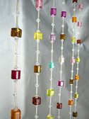 Beaded Curtains Do it yourself- Mix Candy Colors 1' Wide X 6' Length