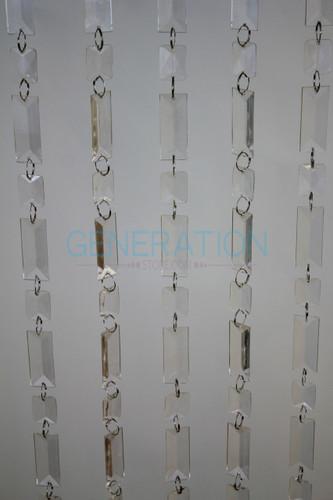 Beaded Curtains Emerald Acrylic-Crystal