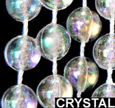 Crystal Ball Beaded Curtains - 3 Feet by 6 Feet