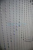 Iridescent Raindrop Beaded Curtains - 3 Feet by 6 Feet