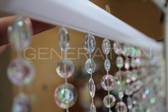 Large Cut Diamond Bead Curtains