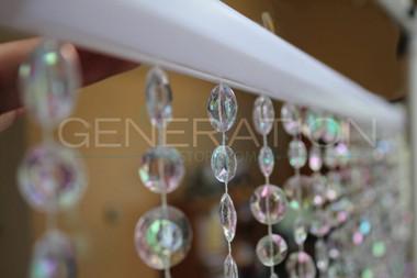 Large Cut Diamond Bead Curtains