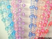 Doorway Beaded Curtains Pearl Balls Pastel