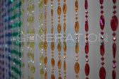 Doorway Beaded Curtains Pendant Swirl Rainbow