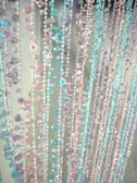Doorway Beaded Curtains Rainbow Crystal Ice