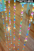 Do It Yourself Multi Pastel Beaded Curtain Strands