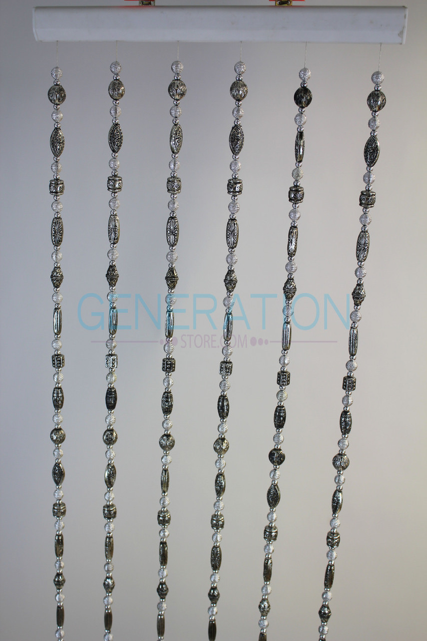 Antique Tibetan Style Beaded Curtain Strands
