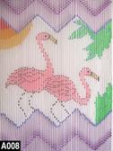 Flamingo Bz Beaded Curtain