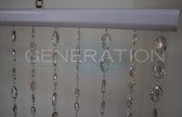 Crystal Pendant Beaded Curtains - 3 Feet by 6 Feet