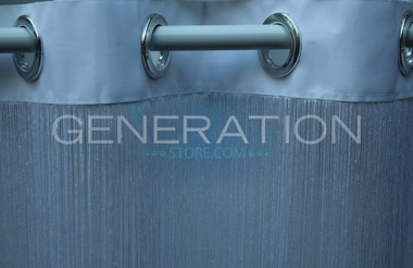 String Curtains with Grommet Heading - 28 Colors - Up to 20 Feet Long