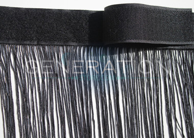 String Curtains with Velcro Strip Heading - 28 Colors - Up to 20 Feet Long