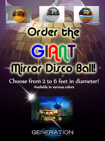 Custom Made Disco Balls In All Colors And Sizes