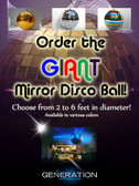 Custom  Made Disco Balls