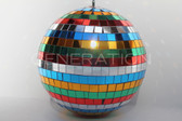 Large Multicolored Disco Ball