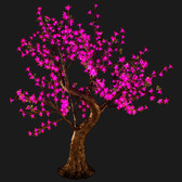 Cherry Blossom Tree 4' 8 High 448 LED Lights Pink Color