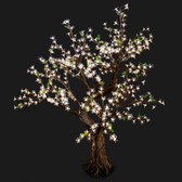 Cherry Blossom Tree 4' 8 High 448 LED Lights Warm White Color Taylor Style