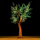 Cherry Blossom Tree 7 Feet 800 Led Lights SHIFT Color Morgan Style