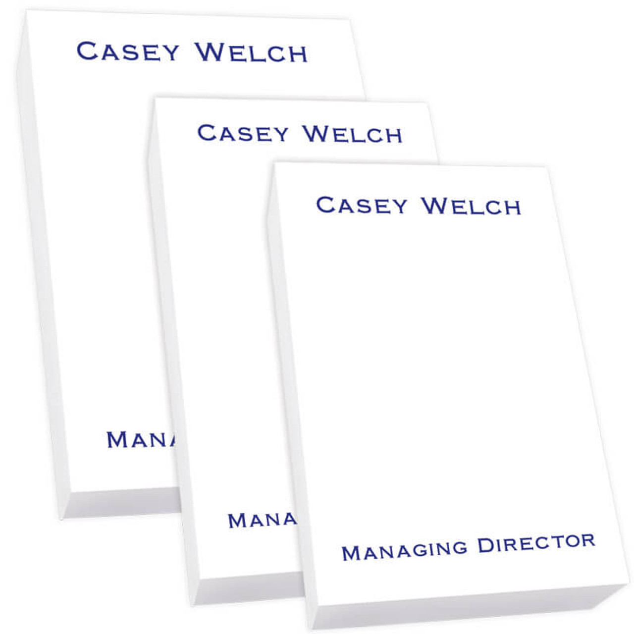 personalized notepad tablet trio