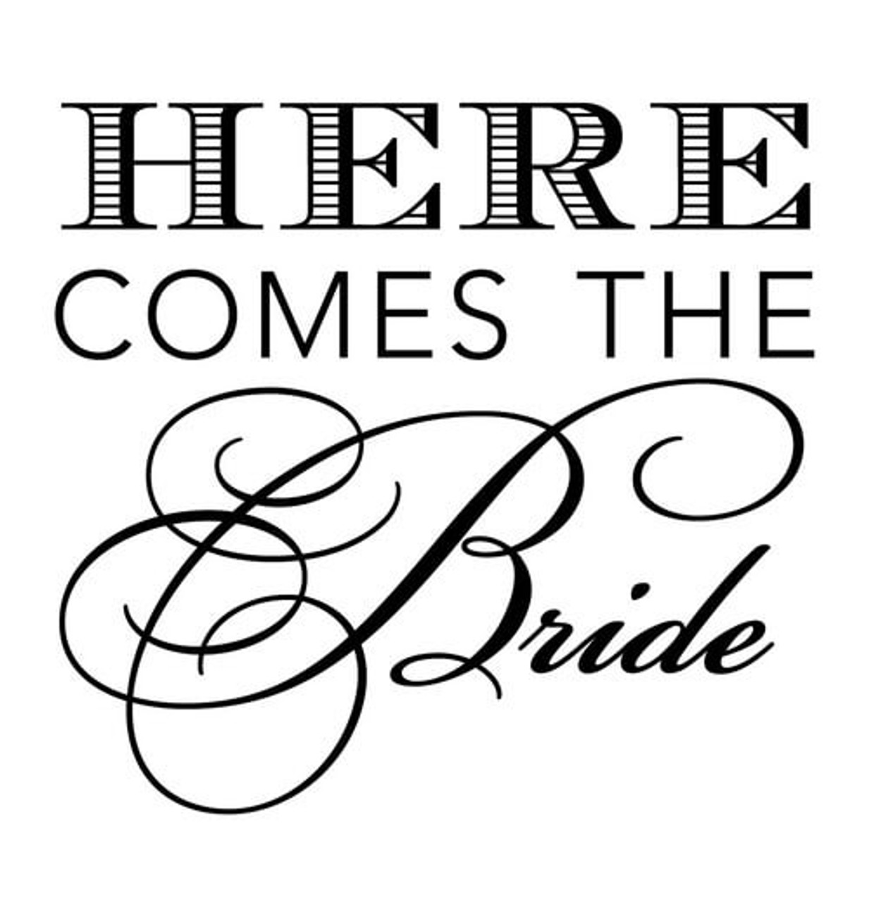 bridal luxe here comes the bride