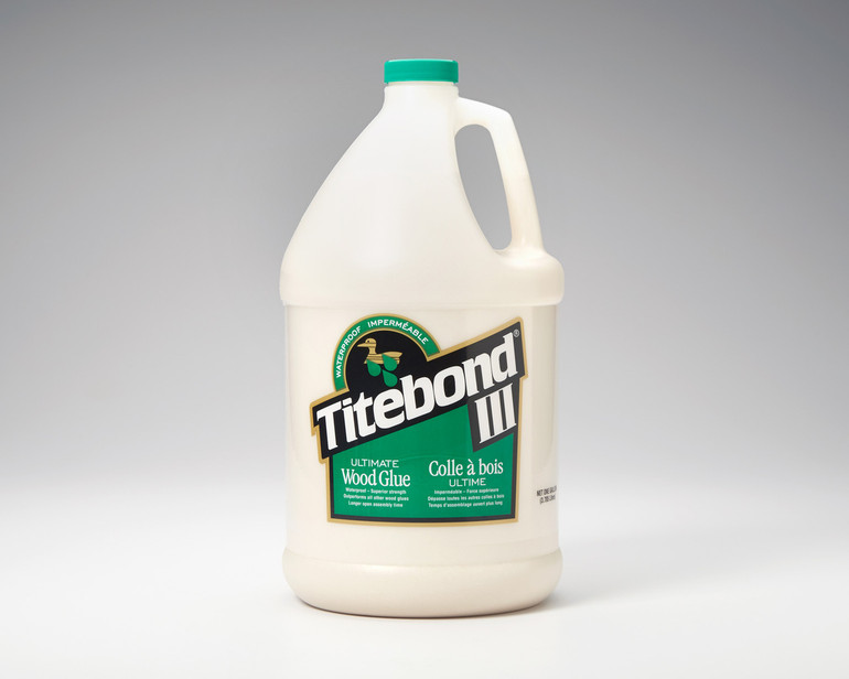 Titebond III glue for making skateboards and other projects