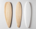 Includes two sets of Pintail-shaped maple veneer 7-layer sets, plus a matching shaped foam mold.