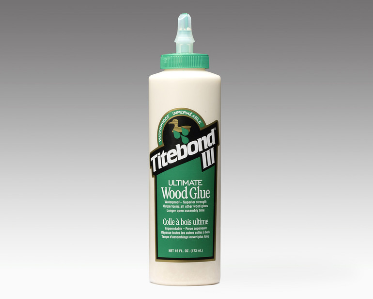 16 oz Titebond III glue for making skateboards and other projects