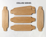 Five Bombora Drop Deck shaped maple veneer 8-layer sets