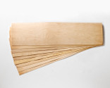 """Slightly smaller! 11 x 41 x 1/16"""" Maple skateboard veneer.   Order as many 9-layer sets as you want, no minimum!"""