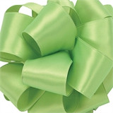 Lemon Grass Wired Satin Ribbon