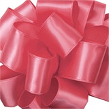 Hot Pink Wired Satin Ribbon