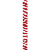 Red Zebra Crystal Ribbon