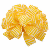 Maize Zebra Crystal Ribbon