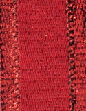 Red Metallic Ribbon - Stacie