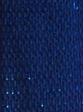 Cobalt Wired Metallic Ribbon - Starleene