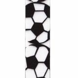Soccer Grosgrain Sports Ribbon