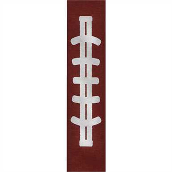 Gridiron Grosgrain Sports Ribbon
