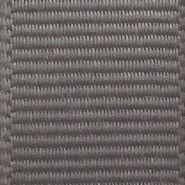 Grey Solid Grosgrain Ribbon